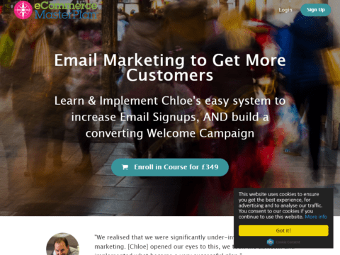 Increase Email Signups, AND build a converting Welcome Campaign