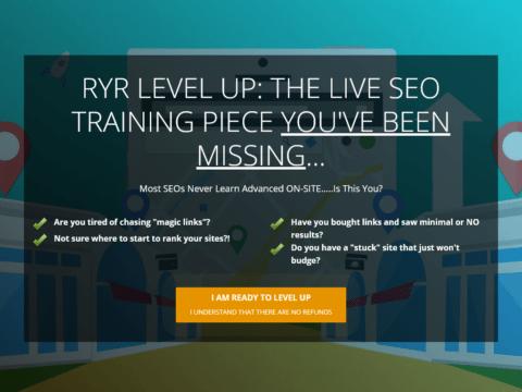 RYR: Level Up Course