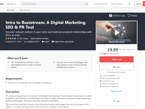 Intro to Buzzstream: A Digital Marketing, SEO & PR Tool