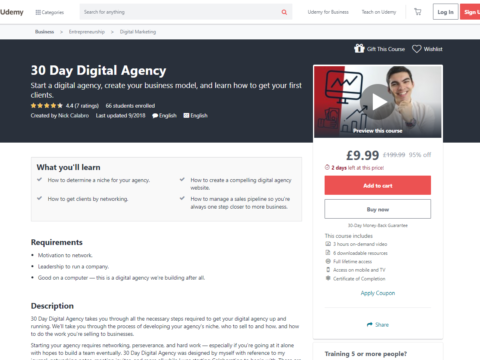 30 Day Digital Agency