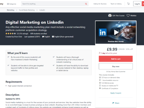 Digital Marketing on Linkedin