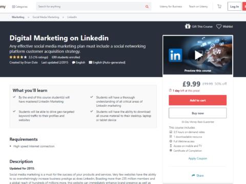 Digital Marketing on Linkedin