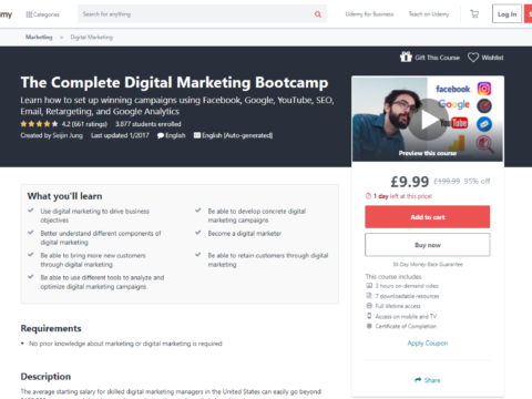 The Complete Digital Marketing Bootcamp