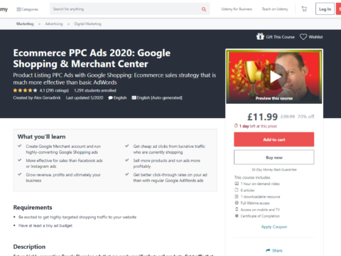 Ecommerce PPC Ads 2020: Google Shopping & Merchant Center