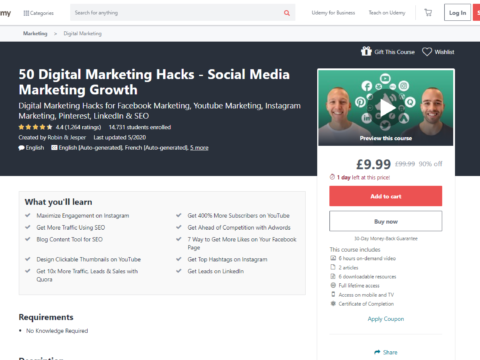 34 Digital Marketing Hacks – Improve Social Media Marketing