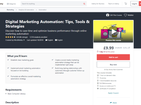 Digital Marketing Automation: Tips, Tools & Strategies
