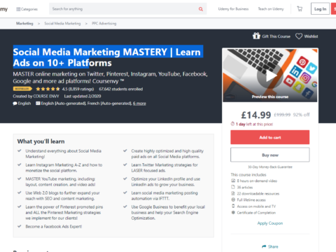 Social Media Marketing MASTERY | Learn Ads on 10+ Platforms