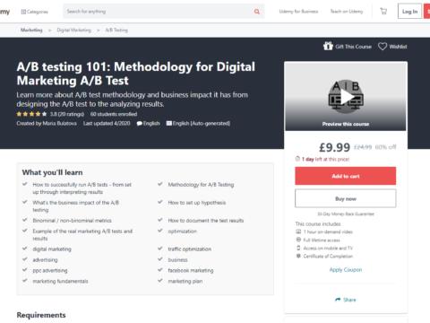 A/B testing 101: Methodology for Digital Marketing A/B Test