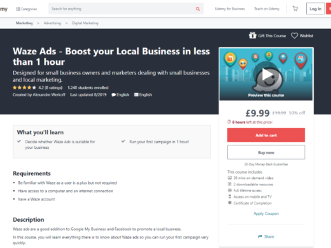 Waze Ads – Boost your Local Business in less than 1 hour
