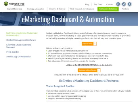 Neptune Web – eMarketing Dashboard & Automation