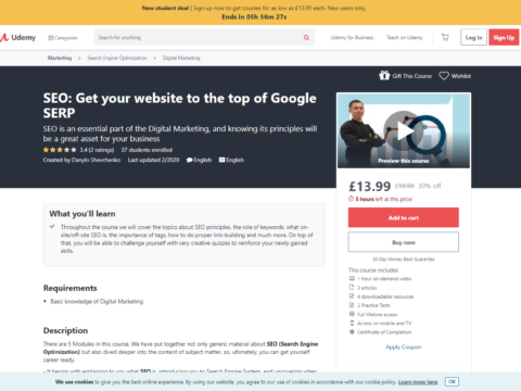 SEO: Get your website to the top of Google SERP