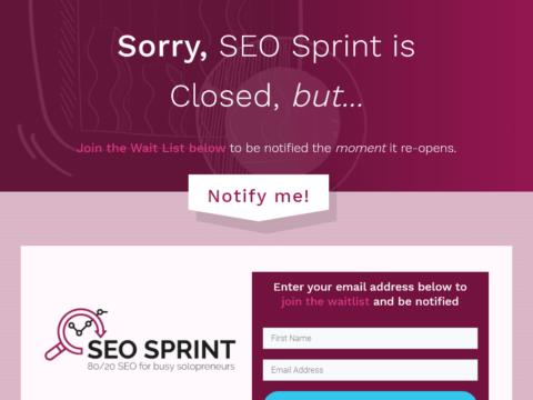 SEO Sprint