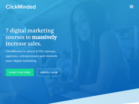 ClickMinded – 7 digital marketing courses to massively increase sales.