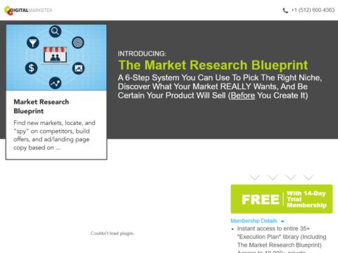The Market Research Blueprint