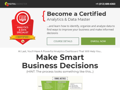 Become a Certified Analytics & Data Master