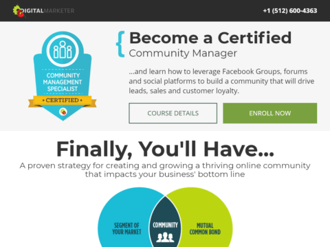 Become a Certified Community Manager