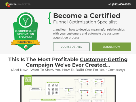 Become a Certified Funnel Optimization Specialist