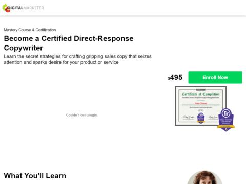 Certification for Digital Marketing Training