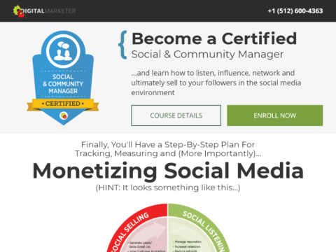 Become a Certified Social & Community Manager