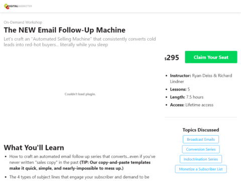 The NEW Email Follow-Up Machine