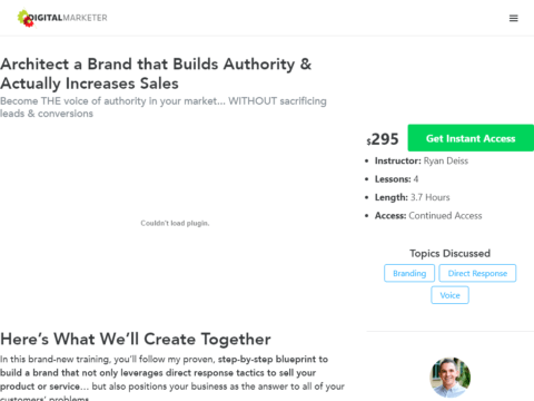 Architect a Brand that Builds Authority & Actually Increases Sales