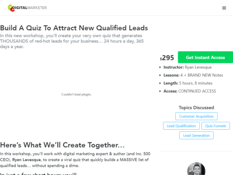 Build A Quiz To Attract New Qualified Leads