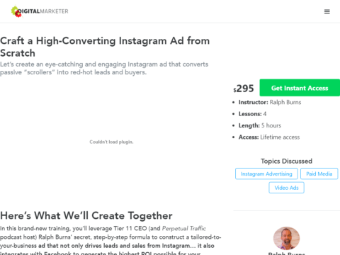 Craft a High-Converting Instagram Ad from Scratch