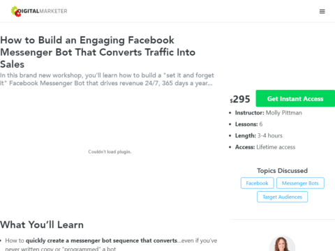 How to Build an Engaging Facebook Messenger Bot That Converts Traffic Into Sales