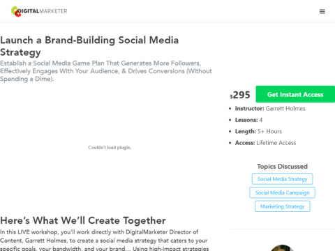 Launch a Brand-Building Social Media Strategy