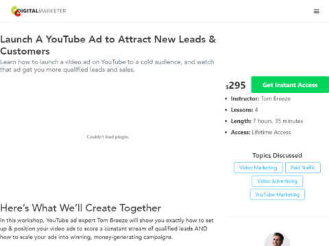 Launch A YouTube Ad to Attract New Leads & Customers