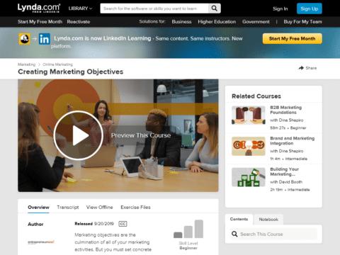 Creating Marketing Objectives