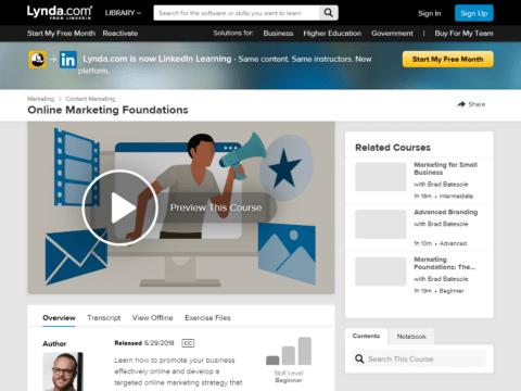 Online Marketing Foundations