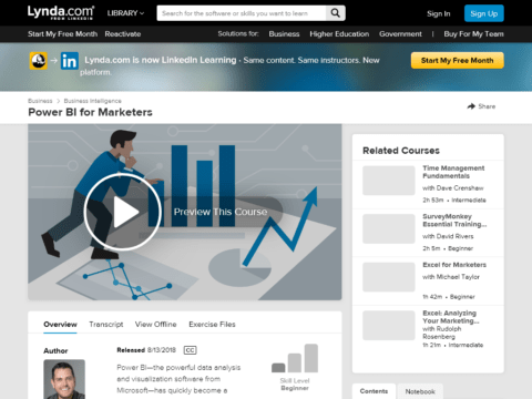 Power BI for Marketers