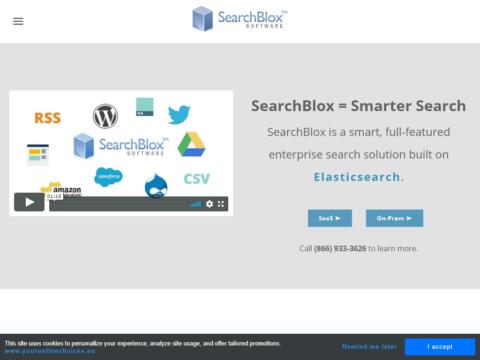 SearchBlox Search