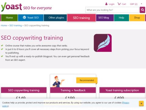 SEO Copywriting Training