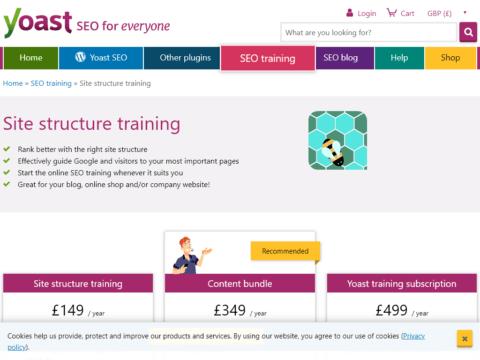 Site Structure Training