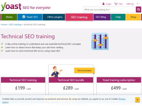 Technical SEO training