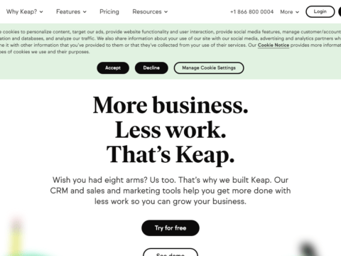 InfusionSoft – Keap
