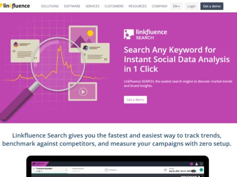 Linkfluence Search
