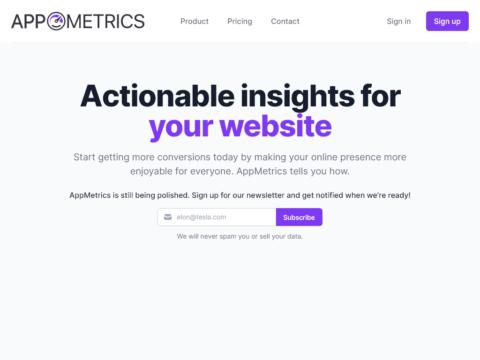 AppMetrics