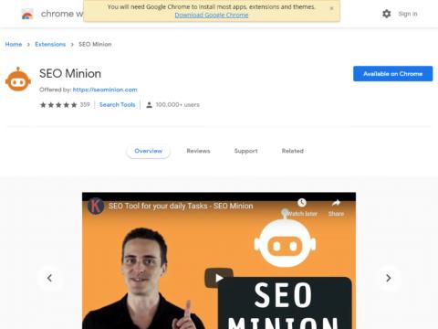 SEO Minion
