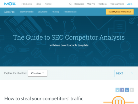 The Guide to SEO Competitor Analysis