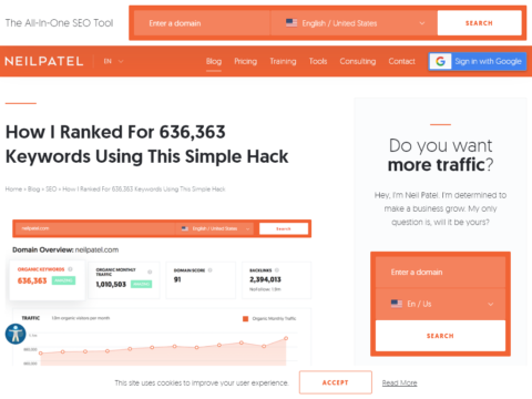 How I Ranked For 636,363 Keywords Using This Simple Hack