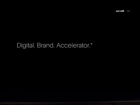 Oui Will – Digital Brand Accelerator