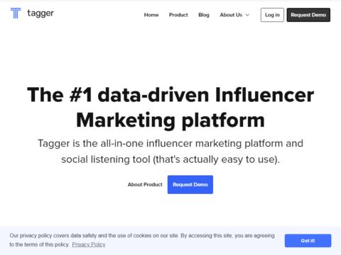 Tagger – Influencer Marketing Platform
