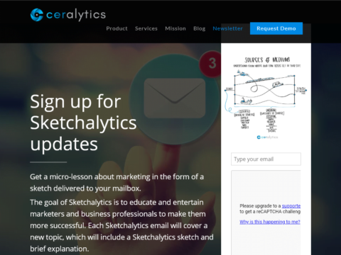 Sketchalytics Newsletter
