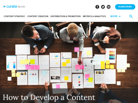 How to Develop a Content Marketing Plan with Templates