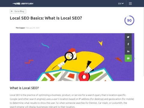 Local SEO Basics: What Is Local SEO?