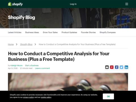 How to Conduct a Competitive Analysis for Your Business (Plus a Free Template)
