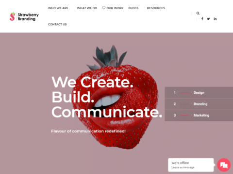 Strawberry Branding